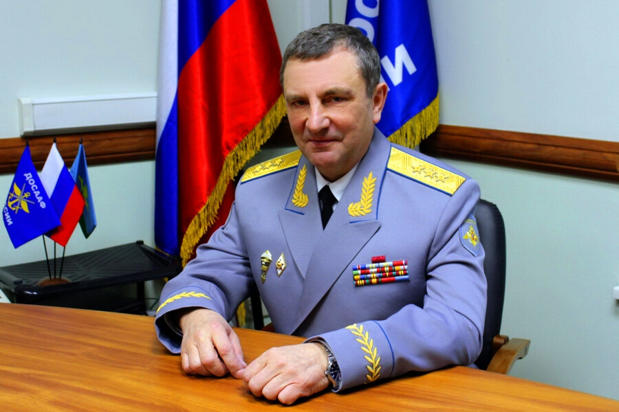 Поздравления с Днем рождения председателя совета СПК Антитеррор от ассоциации Желдорбезопасность